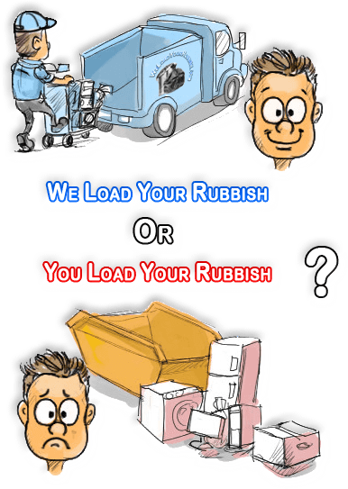 WeLoadYourRubbish.com offers a cost effective alternative to skip hire for waste clearance and rubbish removal in Birmingham and surrounding areas.